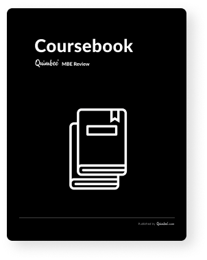 MBE Coursebook cover